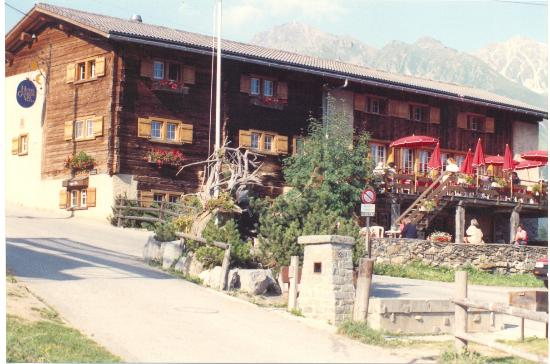 Ленцерхайде, Швейцария: Lenzerheide, Guardaval hotel and restaurant