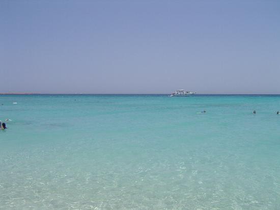 Sonesta Pharaoh Beach Resort Hurghada: Plage de la journée en mer (proposée par l'hotel)