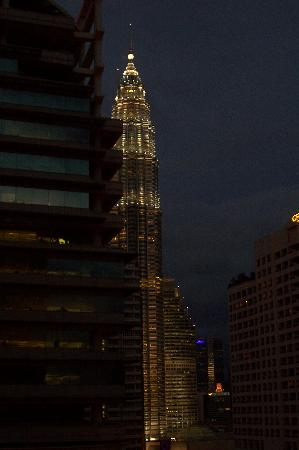 Shangri-La Hotel Kuala Lumpur: View from the standard-deluxe room