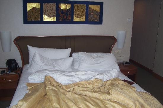 Shangri-La Hotel Kuala Lumpur: SUPER comfy bed