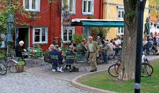 Drobak : Outdoor restaurant