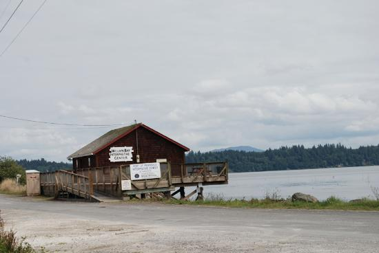 Wilappa Bay Interpretive Center in Nahcotta, WA