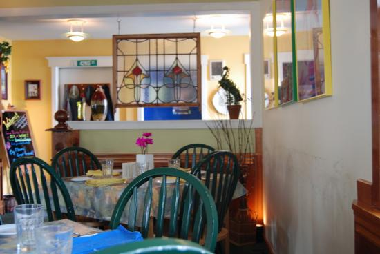42nd Street Cafe : Inside the 42 Street Cafe, Seaview, WA