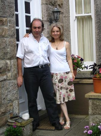 The Borthalan Hotel: Margaret and Martin Smith(owners)
