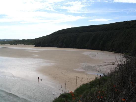 The Borthalan Hotel: Beach just north of Carbis Bay