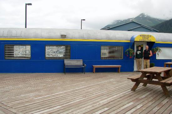 Whistle Stop Lodging: Whistle Stop, Seward, AK