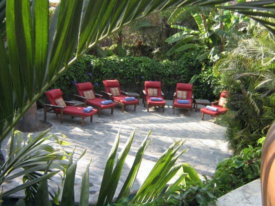 Todos Santos Inn: La zona prendisole