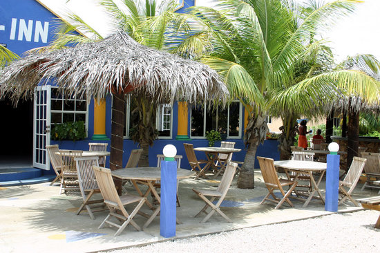 Tropical Inn Bonaire: Das Restaurant 'Old Inn'