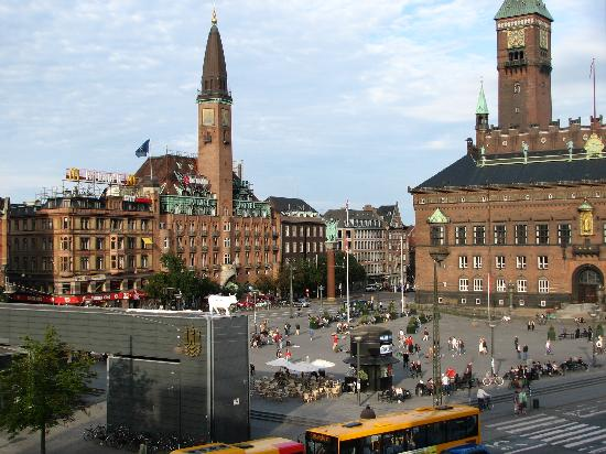 view of town hall square picture of the square copenhagen copenhagen tripadvisor. Black Bedroom Furniture Sets. Home Design Ideas