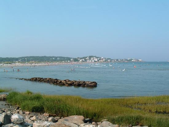 Good Harbor Beach: side view