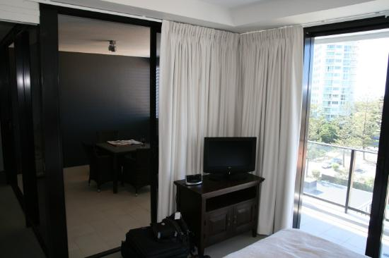 Ultra Broadbeach: Bedroom - LCD TV