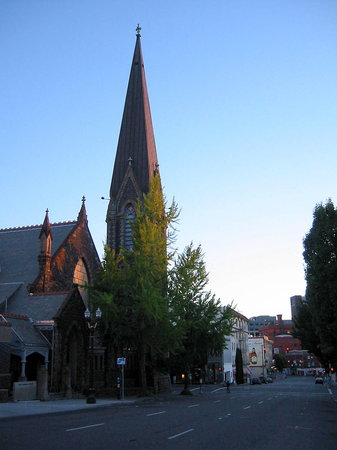Portland, OR: Church near Pearl District