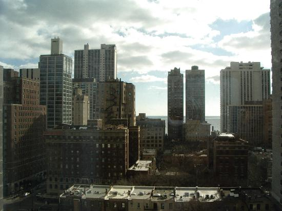 View from my room picture of hotel indigo chicago for Gold coast chicago hotels