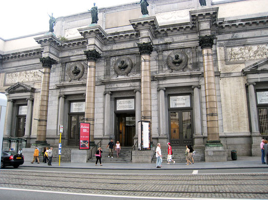 Royal Museums of Fine Arts of Belgium (Musees Royaux des Beaux Arts): Royal Museum of Fine Arts of Belgium Entrance