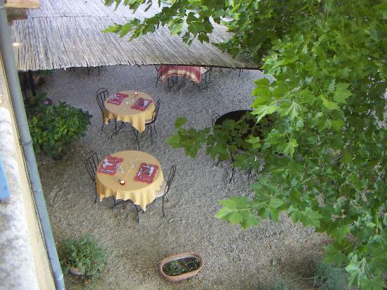 La Bastide de Voulonne : zona cena