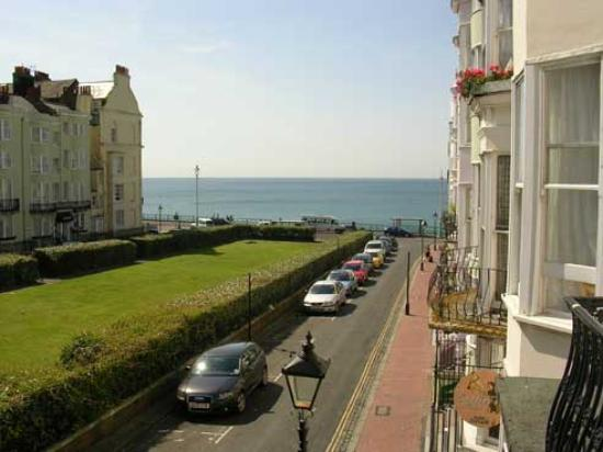 New Steine Hotel: view from balcony