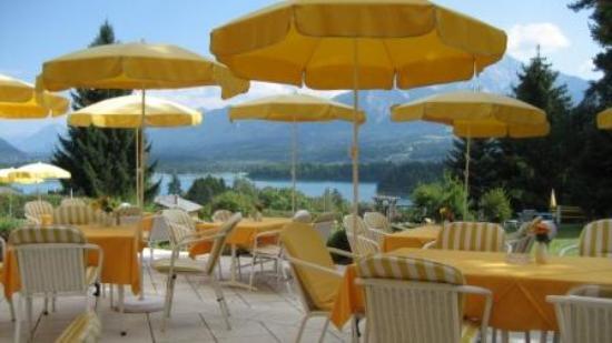 Ferienhotel Schönruh: Terrasse