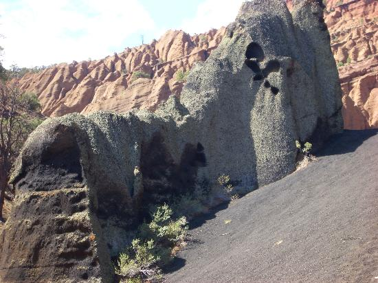 Red Mountain Trail volcanic hoodoos