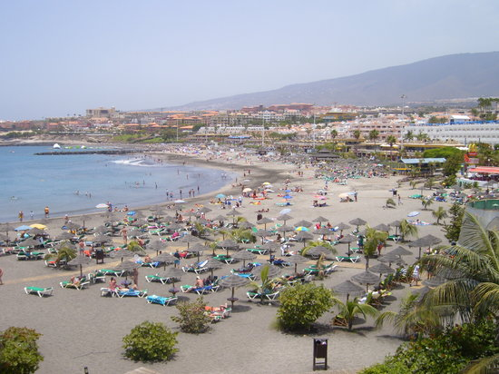 Hotel Chatur Playa Real: Adeje beach