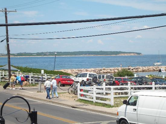 Block Island, RI: view from Harbor Grill