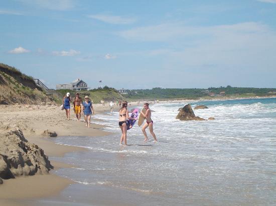 Block Island, RI : more Scotch Beach