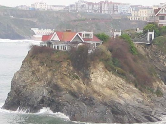 St. Christopher's Inn Newquay: View from bar/terrace