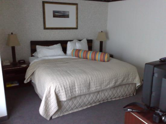 Phoenix Inn Suites Eugene : The king bed in the adjoining room of a family suite