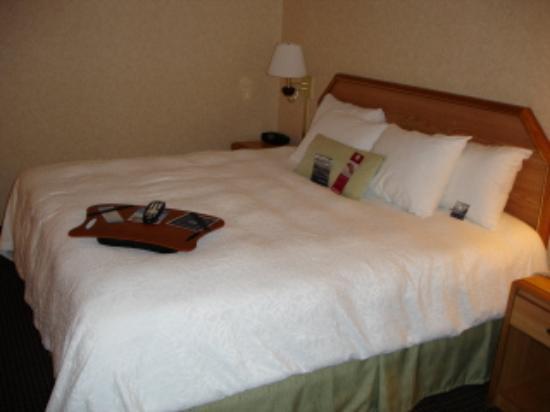 Hampton Inn Gettysburg: Bed