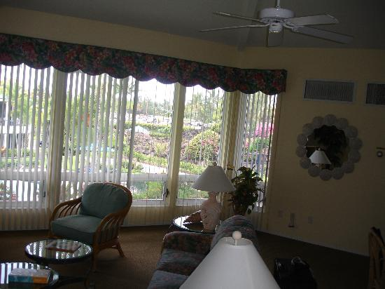 Wyndham Mauna Loa Village: Large living room
