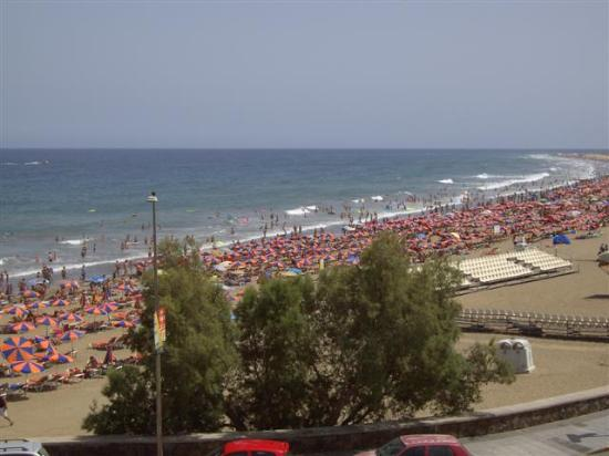 beach picture of corona blanca playa del ingles tripadvisor. Black Bedroom Furniture Sets. Home Design Ideas
