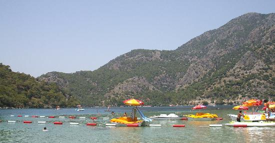 Perdikia Beach Hotel: Lagoon Pedaloes