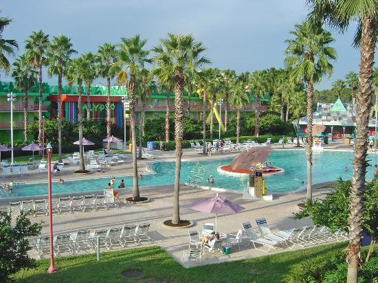 All star music piscine principale picture of disney 39 s for Hotel disney avec piscine