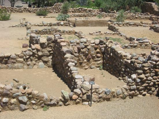 Besh Ba Gowah: View from the second level of the pueblo