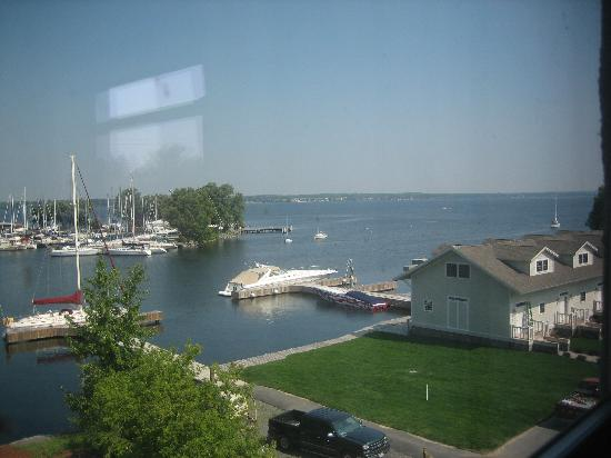 Ontario Place Hotel now Harbor House Inn: Harbor view from our room