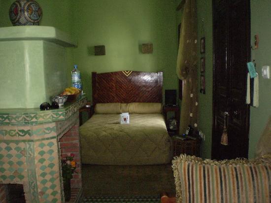 Riad El Mansour: Our room