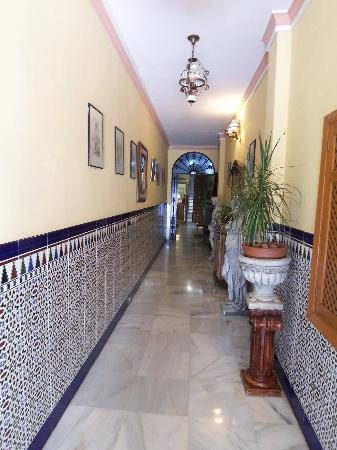 Entrance to Hostal Virgen del Rocio