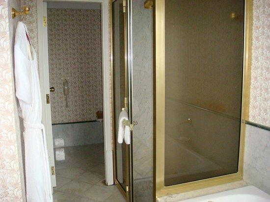 Iguazu Grand Resort, Spa & Casino: The shower and the restroom