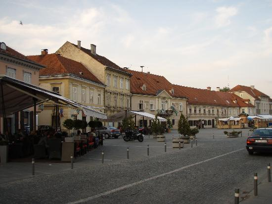 Hotel Livadic: Downtown Samobor outside the Livadic