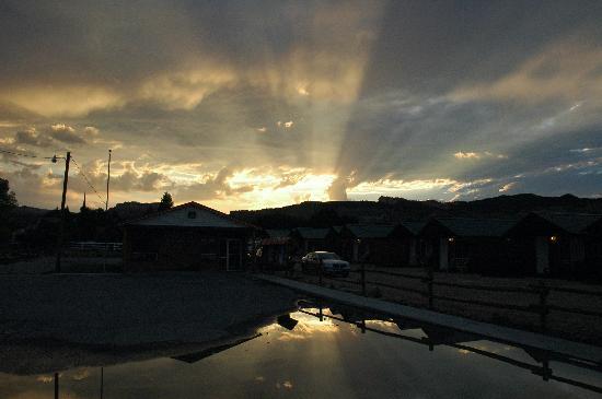 Sunset at Bryce Canyon Inn