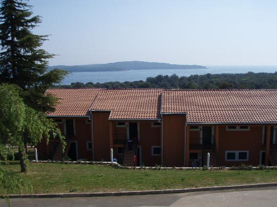 Vrsar, Croacia: Koversada Apartments overlooking the sea
