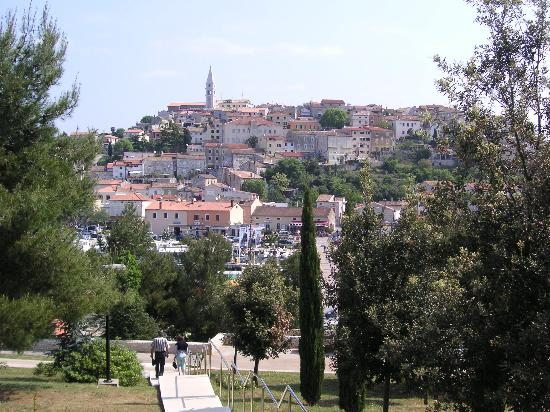 The nearby town of Vrsar