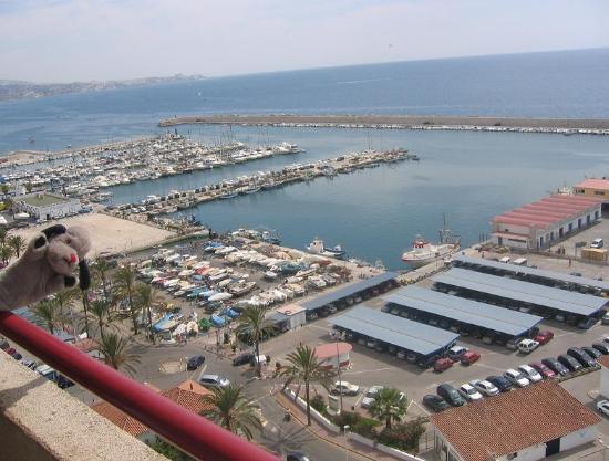 Pierre & Vacances Hotel El Puerto: View enjoyed by Sweep
