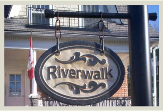 Riverwalk B & B : Riverwalk B&B