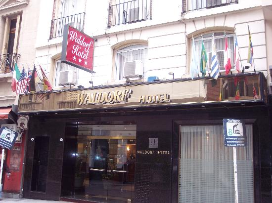 Front of Waldorf Hotel Buenos Aires
