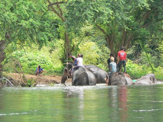 Oriental Kwai Resort: river kwai