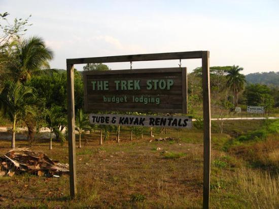 The Trek Stop: Trek Stop's Sign