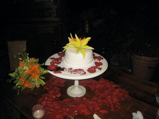 Villa Montana Beach Resort: Wedding Cake