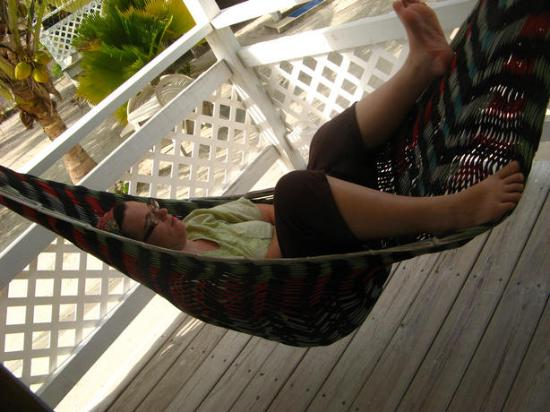 Maxhapan Cabanas: Sleeping in the Hammock