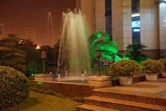 Zhuzhou Huatian Hotel: Hotel Fountain