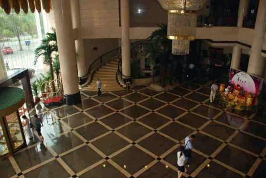 Zhuzhou Huatian Hotel: Hotel foyer